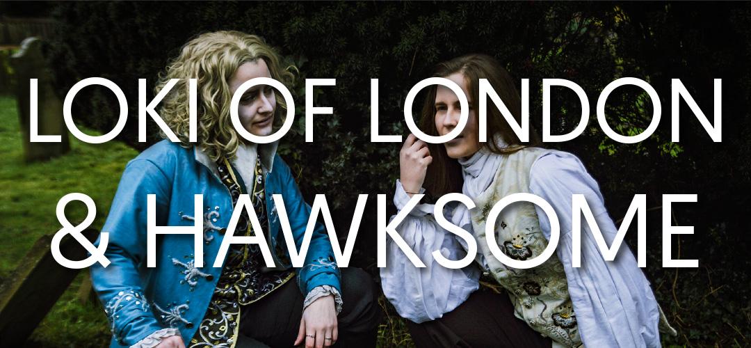 loki and hawksome