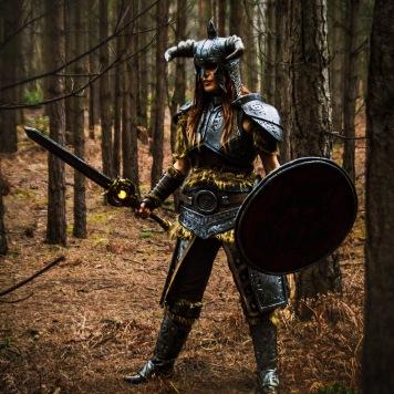 Skyrim Dragonborn cosplay comic con uk cosplay magazine