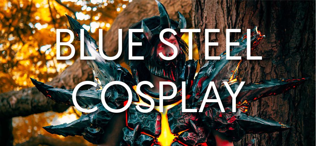 Blue Steel Cosplay