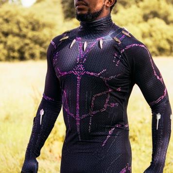 Black Panther Marvel Comics cosplay uk costume comic con