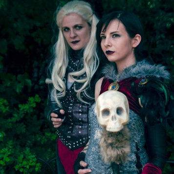 Flemeth and Morrigan Dragon Age