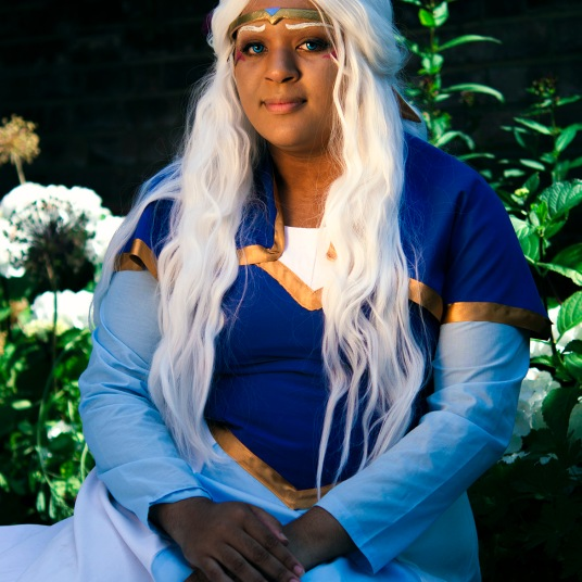 Princess Allura Voltron cosplay uk costume comic con cartoon