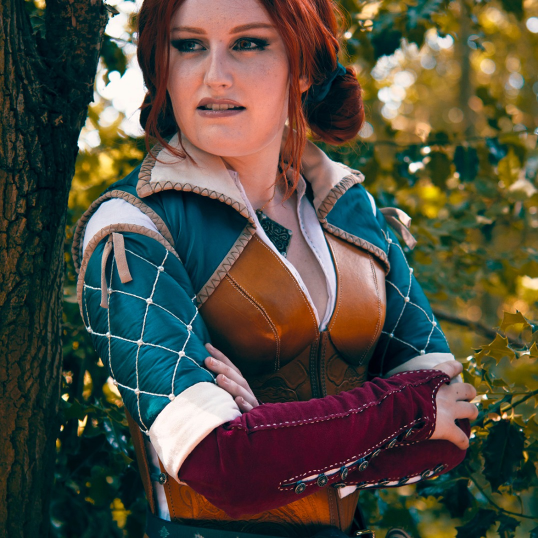 Triss Merigold The Witcher Cosplay comic con MCM London gaming video games