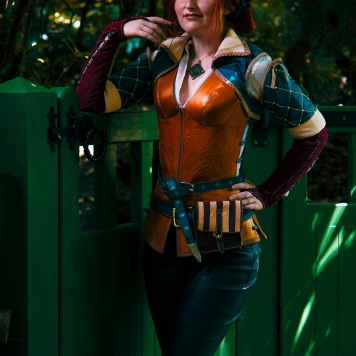 DSC_02Triss Merigold The Witcher Cosplay comic con MCM London gaming video games