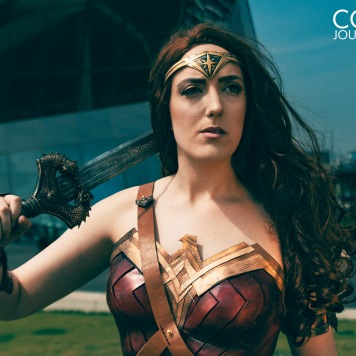 Wonder Woman cosplay UK DC Comics costume comic con MCM London