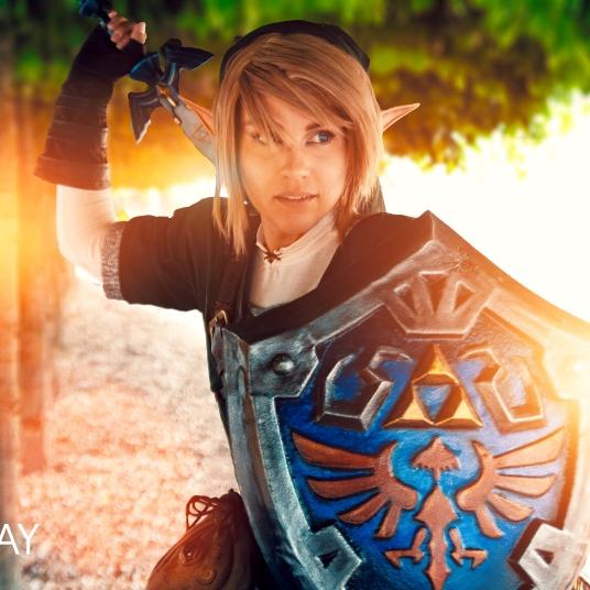 Link Legend of Zelda video games cosplay UK costume comic con MCM London