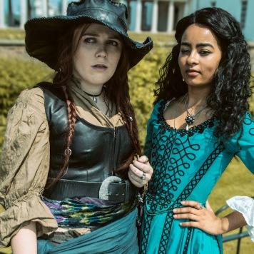 cosplay magazine uk Anne Bonny Max Black Sails cosplay uk costume comic con MCM London