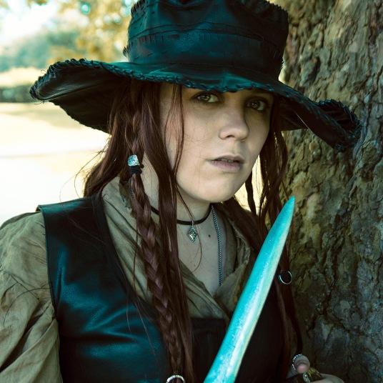 Anne Bonny Black Sails cosplay uk costume comic con MCM London