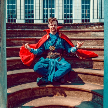 Doctor Strange Marvel MCU cosplay UK costume comic con MCM London