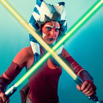 Ashoka Tano Star Wars Clone Wars Rebels cosplay uk comic con MCM London