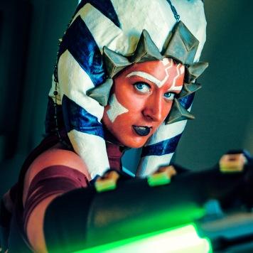 cosplay magazine uk Ashoka Tano Star Wars Clone Wars Rebels cosplay uk comic con MCM London
