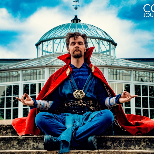 cosplay magazine uk Doctor Strange Marvel MCU cosplay UK costume comic con MCM London
