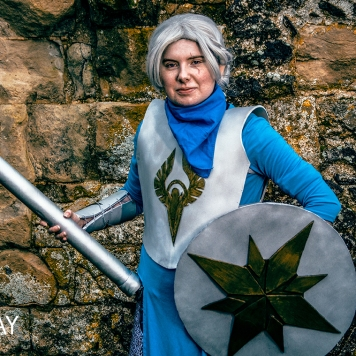 Critical Role Vox Machina Pike cosplay uk costume comic con mcm London