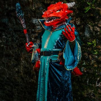 Critical Role Vox Machina Tiberius cosplay uk costume comic con mcm London