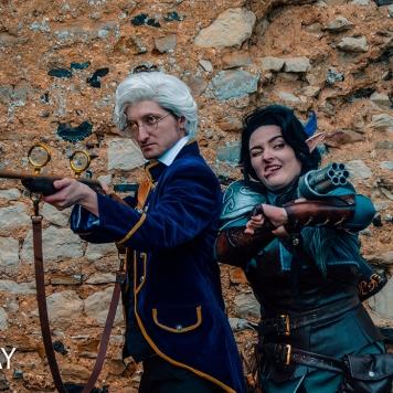 Vex'ahlia Critical Role Vox Machina cosplay uk costume comic con mcm London