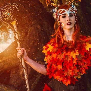 cosplay magazine uk Critical Role Vox Machina Keyleth cosplay uk costume comic con mcm London