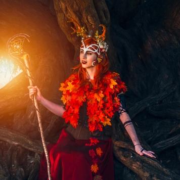 Critical Role Vox Machina Keyleth cosplay uk costume comic con mcm London