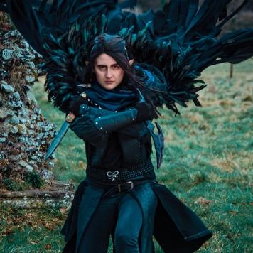 Vax'ildan Critical Role Vox Machina cosplay uk costume comic con mcm London