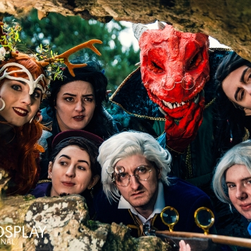 cosplay magazine uk Dungeons and Dragons Critical Role Vox Machina cosplay uk costume comic con mcm London