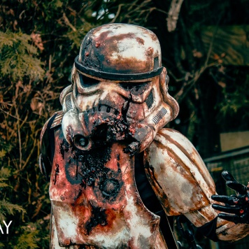 Stormtrooper Star Wars zombie comic con MCM London cosplay uk
