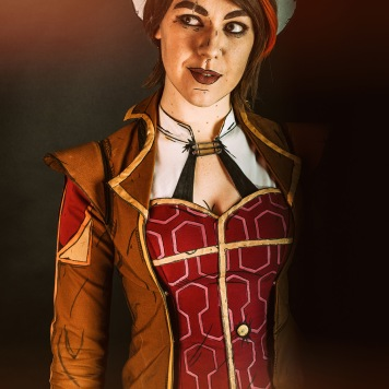 cosplay magazine uk Fiona Borderlands Tales from the Borderlands cosplay uk cel shading comic con mcm london